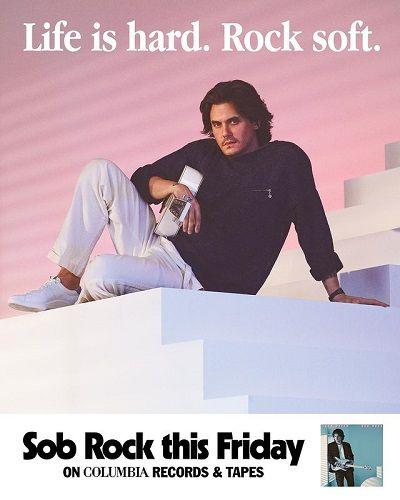 """John Mayer lança novo disco inspirado nos anos 80; ouça """"Sob Rock"""""""
