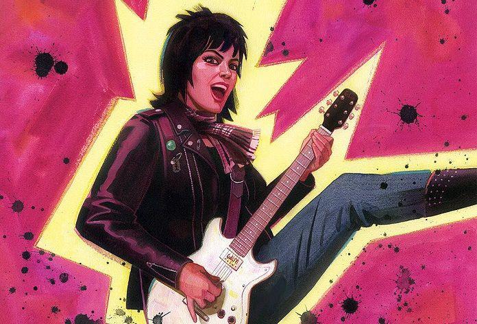 Joan Jett vai celebrar 40 anos de dois discos icônicos com HQs