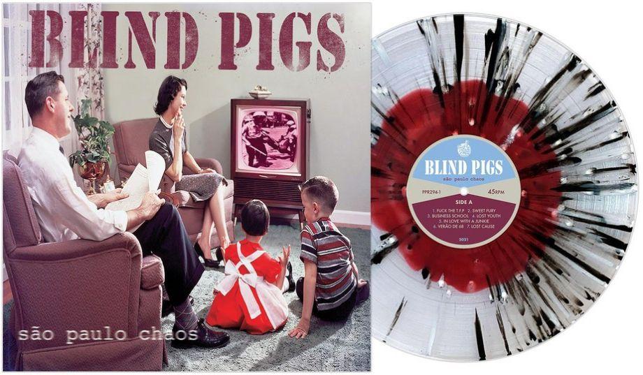 Banda punk paulista Blind Pigs tem relançado em LP o álbum 'São Paulo chaos'