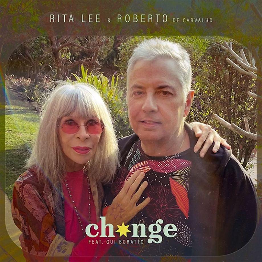 Rita Lee e Roberto de Carvalho lançam 'Change', primeira música inédita em nove anos
