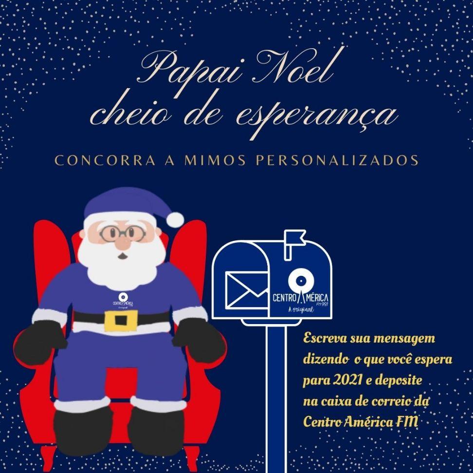 PROMOÇÃO PAPAI NOEL CHEIO DE ESPERANÇA