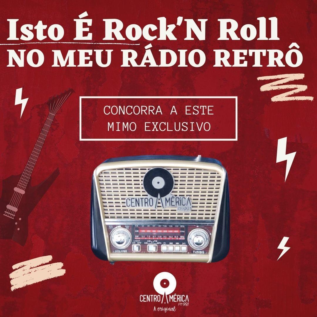 PROMOÇÃO ISTO É ROCK'N ROLL NO MEU RÁDIO RETRÔ