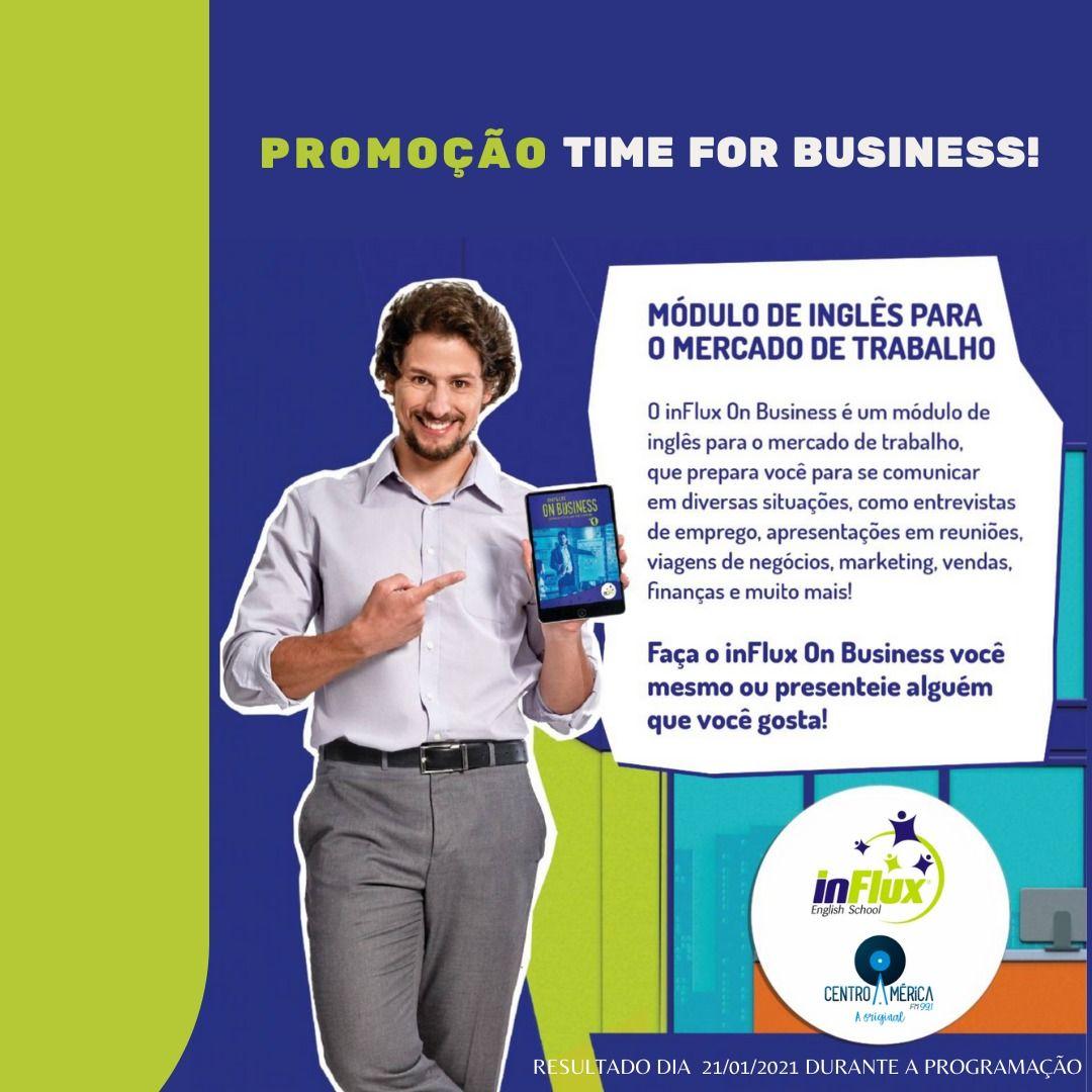 PROMOÇÃO TIME FOR BUSINESS