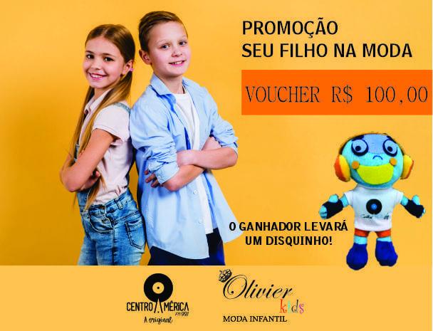 PROMOÇÃO SEU FILHO NA MODA - OLIVIER KIDS