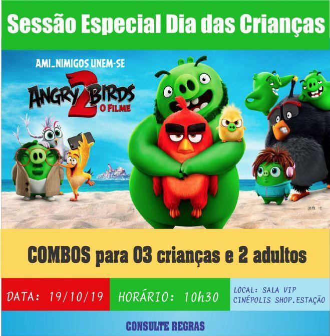 SESSÃO ESPECIAL DIA DAS CRIANÇAS CENTRO AMÉRICA FM